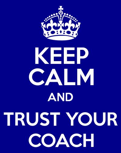 Tot jullie spreekt voortaan...        een gecertificeerd coach :-)