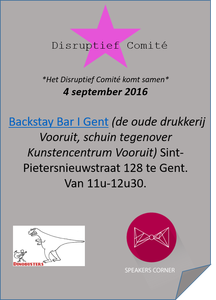 Disruptief comite